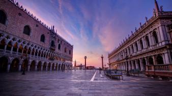 piazza san marco, города, венеция , италия, простор