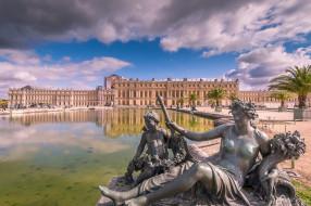 palace of versailles, города, париж , франция, простор