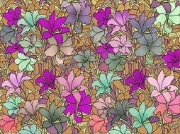 цветы, texture, фон, pattern, color