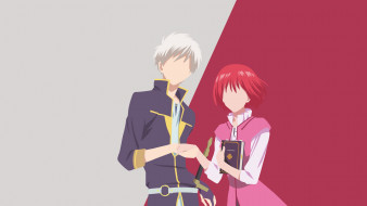 аниме, akagami no shirayukihime, пара