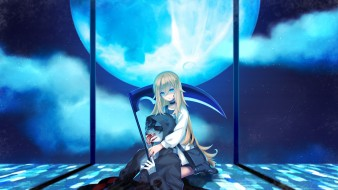 аниме, satsuriku no tenshi, ангел, кровопролития