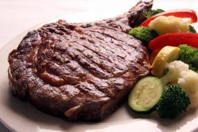 стейк, мясо