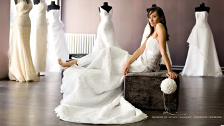 невеста, взгляд, женщина