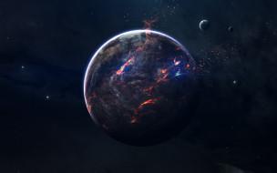 галактики, вселенная, планета, звезды