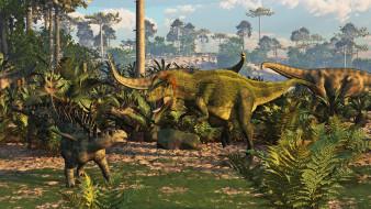природа, динозавры