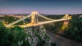 Бристоль, Англия, мост