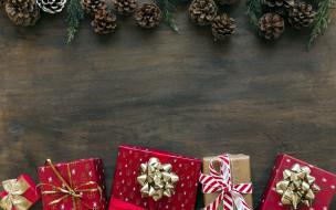 шишки, подарки