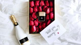 праздничные, день святого валентина,  сердечки,  любовь, кольцо, розы