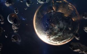вселенная, планета, звезды, галактики