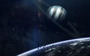 планеты, вселенная, галактики, звезды