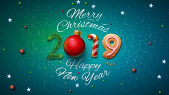 рождество, 2019, постер, новый год