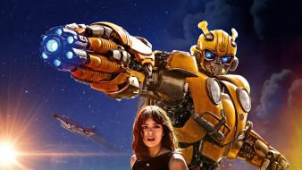bumblebee , 2018, кино фильмы, bumblebee, хейли, стайнфелд, фантастика, постер