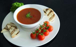 томатный, суп