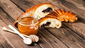 мед, пирог