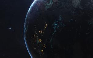 звезды, галактики, вселенная, планета
