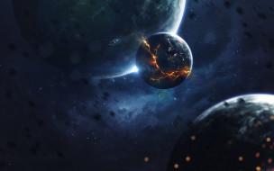 вселенная, планеты, галактики, звезды