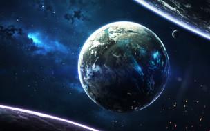 звезды, галактики, вселенная, планеты