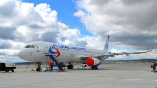 лайнер, гражданская авиация, свердловская авиакомпания, airbus 321, аэропорт, уральские авиалинии