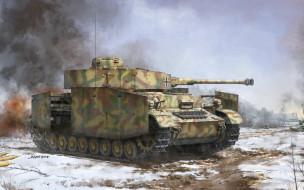 арт, танк, WW II