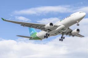 airbus a330-202, авиация, пассажирские самолёты, авиалайнер