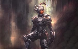 аниме, goblin slayer, рыцарь