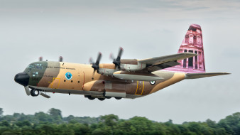 lockheed c-130h hercules, авиация, военно-транспортные самолёты, вта