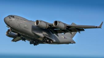 boeing c-17 globemaster iii, авиация, военно-транспортные самолёты, вта