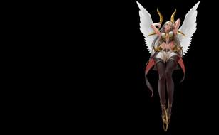 фэнтези, ангелы, it's, not, an, angel, mam, ba, ассасин, арт, аниме, крылья