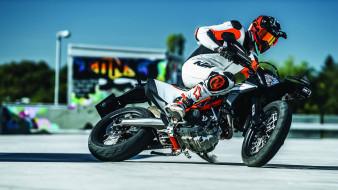 2019 ktm 690 smc r supermoto, мотоциклы, ktm, спортивный, 2019, eicma, 2018, supermoto, r, smc, 690