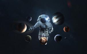галактики, звезды, вселенная, планеты