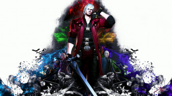 видео игры, devil may cry 4, devil, may, cry, 4