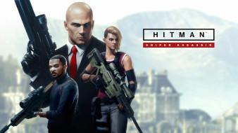 видеоигры, персонажи, постер, hitman 2 sniper assassin, games
