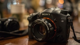 бренды, sony, стол, камера, фотоаппарат
