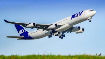 a340-313, авиация, пассажирские самолёты, авиалайнер