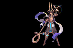 SCI-FI ANUBIS, Purple Moon, дизайн костюма, арт, фэнтези, игра