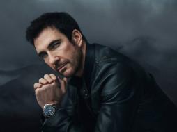 dylan mcdermott, мужчины, знаменитости, наручные, часы, dylan, mcdermott, портрет, актер, мужчина