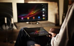 технологии, сони, sony, планшет, smart tv