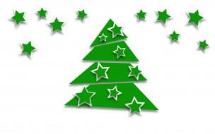 праздничные, векторная графика , новый год, елка, украшения