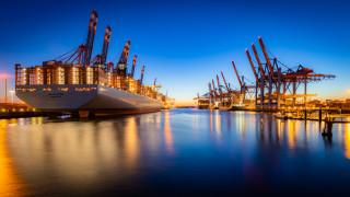 корабли, грузовые суда, простор