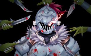 обои для рабочего стола 3504x2180 аниме, goblin slayer, убийца, гоблинов