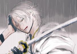 аниме, touken ranbu, танец, мечей