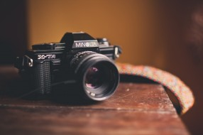 ремень, стол, камера, фотоаппарат