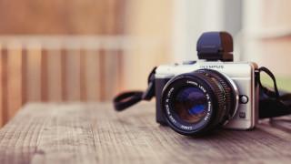 камера, стол, фотоаппарат