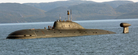 вмф, субмарина, проект 971, россия, щука-б, подводная лодка