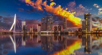 rotterdam, города, - панорамы, простор