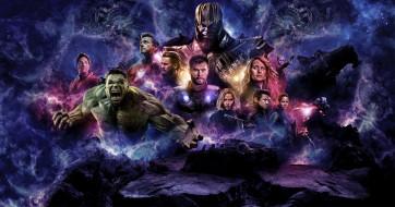скалы, Мстители, герои, космос