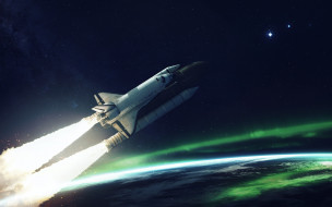полет, космический корабль