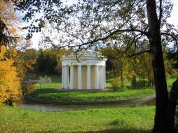 Павловск, беседка, Санкт- Петербург, Россия, парк