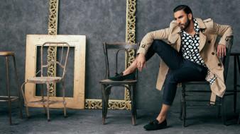 актер, борода, стулья, Ranvir Singh, рамы