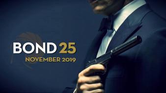 фильм, bond 25, триллер, дэниэл крэйг, боевик, джеймс бонд, постер, 2020
